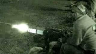 night mini gun shoot and cool glow Full Automatic Rangers