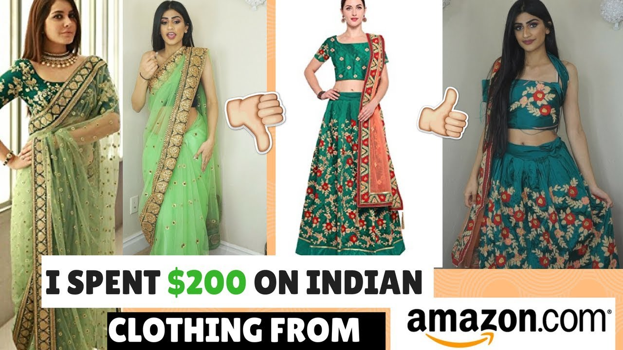 I SPENT $200 ON INDIAN CLOTHING FROM AMAZON