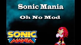 Sonic Mania Instalar Knuckles OH NO Mod