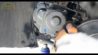 ВАЗ 2110 Устранение течи масла КПП / Замена задней крышки КПП / Замена левой опоры двигателя