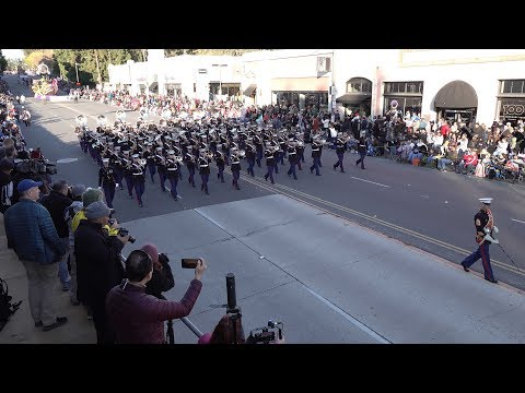 USMC West Coast Composite Band - Semper Fidelis - 2020 Pasadena Rose Parade