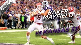 Highlights from oklahoma qb baker mayfield's week 8 performance against kansas state.twitter: @skydesignsgfxinstagram: @skydesignsgfx