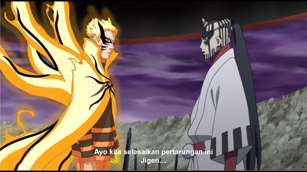 Kenapa Naruto tidak menggunakan Mode baryon melawan Jigen - Ternyata ini dia alasannya !!!