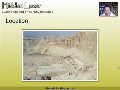 Hidden Luxor -Deir el Bahri - Hatshepsut's Temple: Module 3 #thisisegypt