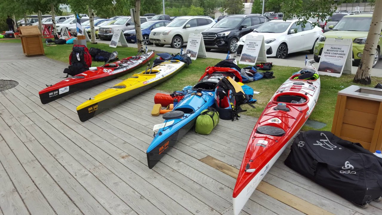 Getting Ready for Yukon River Quest - 2018