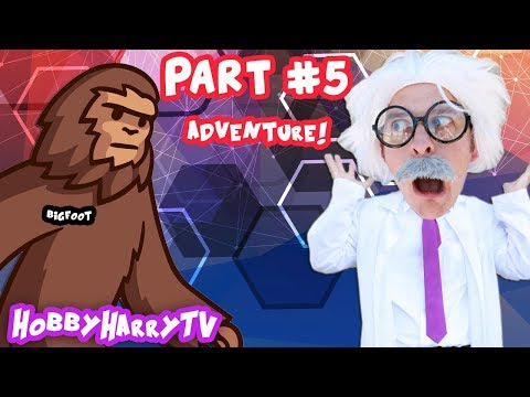 He's Hungry and HUGE! Mysterious Creature Adventure Part 5 on HobbyHarryTV