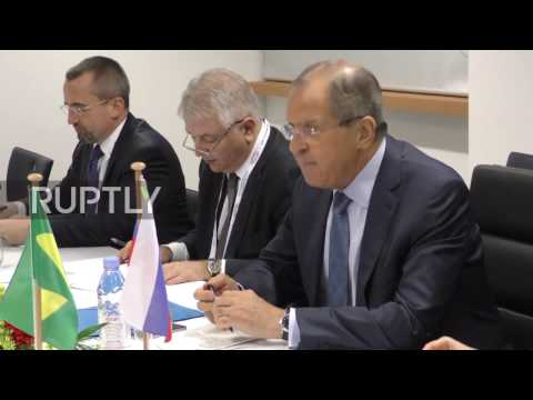 Germany: Lavrov meets Brazilian and Turkish FMs on sidelines of G20