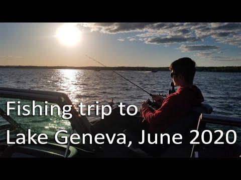 Fishing On Lake Geneva 2020