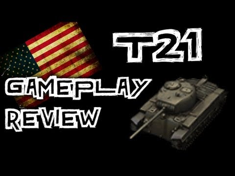 World of Tanks || T21 Gameplay Review - Support Light