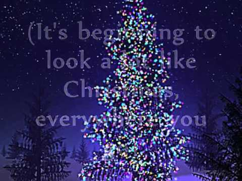 Its Beginning To Look A Lot Like Christmas Lyrics.Dionne Warwick It S Beginning To Look A Lot Like Christmas