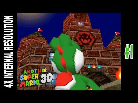 Let's Play Another Super Mario 3D (SM64DS Hack): Part 1 - DeSmuME X432R - [1080p HD] - Nintendo DS - 동영상