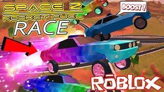 *OMG* THE ULTIMATE ROCKET FUEL CAR RACE IN ROBLOX JAILBREAK!