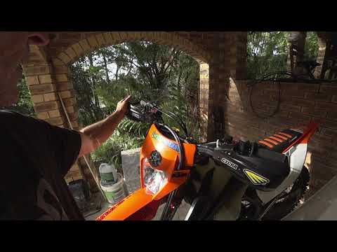 018 KTM500 Cycra Series One Probend With BRP Bar Clamps Overview!