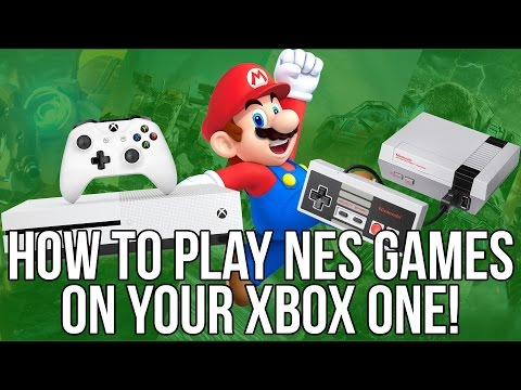 How To Play Mario Brothers And Other NES Games On Your Xbox One | NES Classic | NESBOX