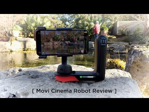 That's Mr. Cinema Robot (Freefly Movi Gimbal Review)