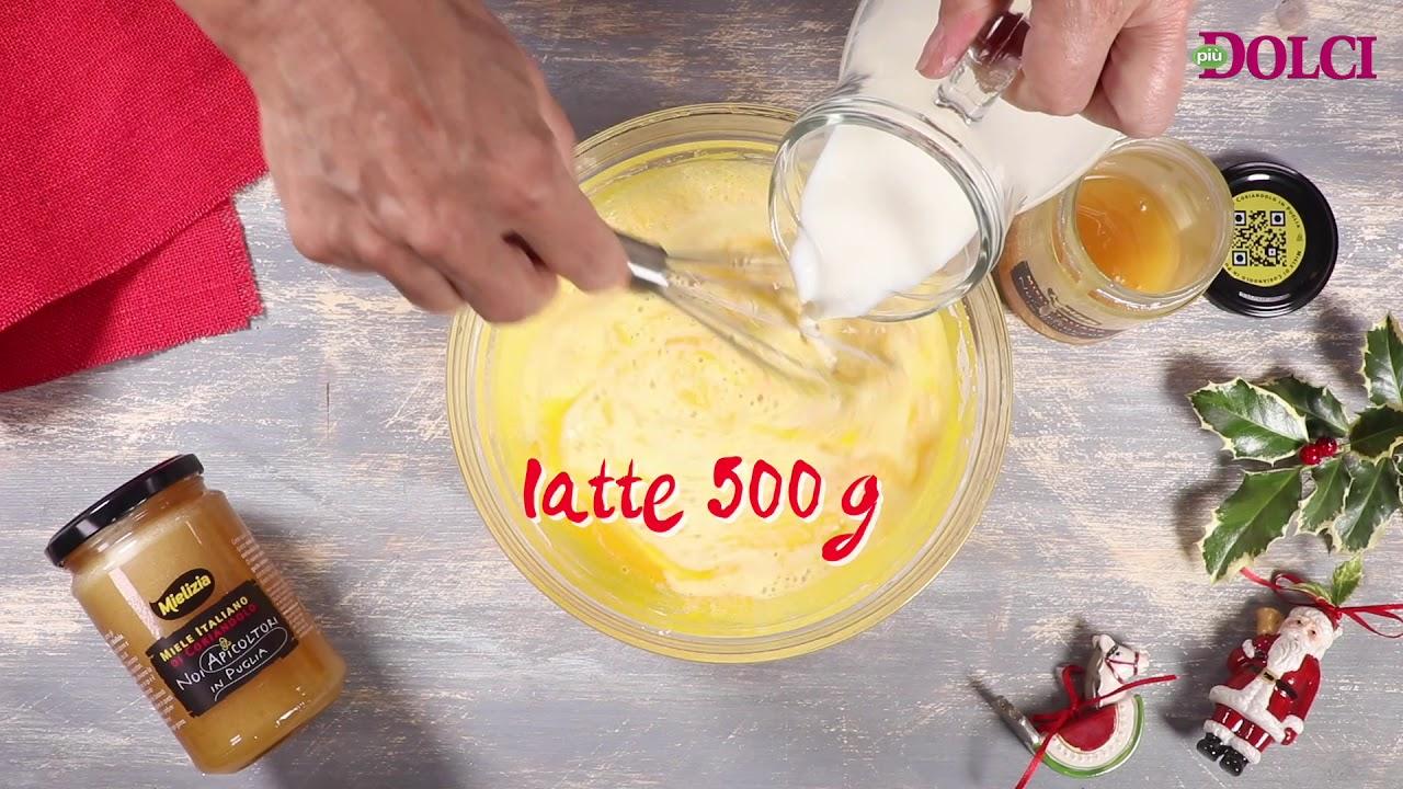 Tronco Di Natale Youtube.Tronchetto Di Natale Con Crema Al Miele Di Coriandolo Mielizia