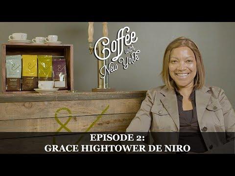 Coffee With New York  Grace Hightower De Niro