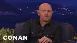 bill burr thinks celebrity endorsements hurt candidates conan on tbs