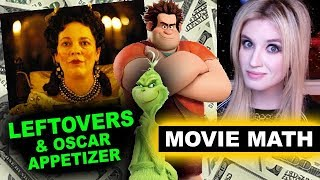 Box Office for The Favourite, Ralph Breaks the Internet, The Grinch