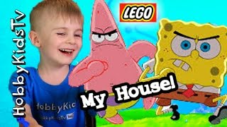 Spongebob Squarepants LEGO Story by HobbyPig + HobbyFrog HobbyKidsVids