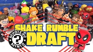 Shake Rumble DRAFT with Batman Toys, Justice League Toys and Avengers Toys Mystery Minis by KidCity