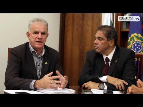 VÍDEO: Senador Hélio José recebe o presidente da FENOJUS para tratar de assuntos de interesse dos oficiais de Justiça