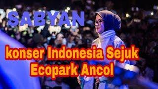 KESERUAN!! Konser indonesia sejuk SABYAN
