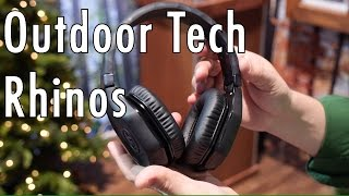 Outdoor Tech Rhinos  Rugged Headphones at CES 2017