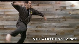 How To- Trick Throw for Bo Shuriken, Ninja Darts, Throwing Stars, for Bujinkan Ninjutsu Training