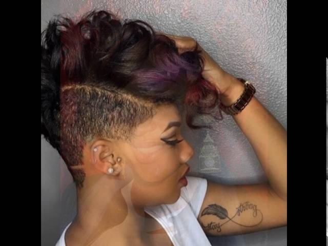 Faded Glory Haircut Short Hairstyles for Black Women