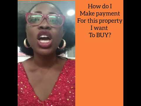 How do I make payment for a property?