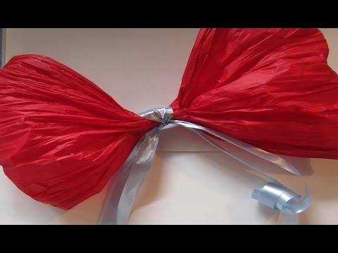 Mo o en papel seda para decorar tus fiestas accessory to - Lazos grandes para decorar ...