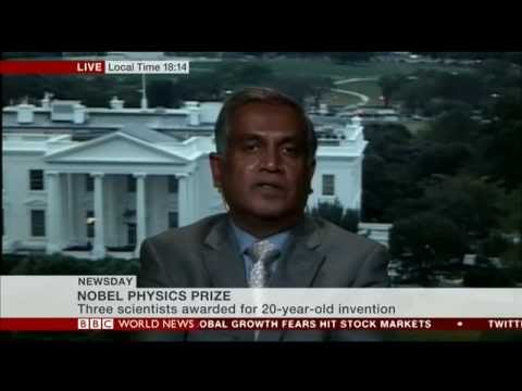 Narendran Comments on Nobel Prize for Blue LEDs: BBC World News, 2014 10 07