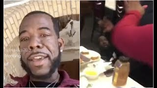 Hell Rell Responds After Getting Jumped In Font Of Family At Chinese Food Place