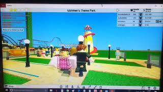 Roblox park de diversões