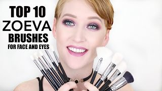 Top 10 Best Zoeva Makeup Brushes!