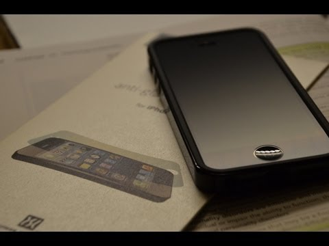 PowerSupport iPhone 5 Anti Glare Screen Protector - Full Indepth Review