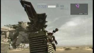 Armored core 4 Answer Gameplay