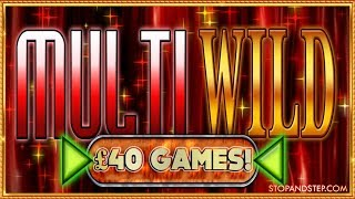 £40 BIG BETS!! Multi Wild MEGA SPINS!