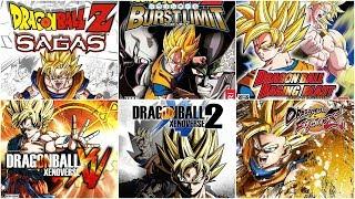 [HD] Dragon Ball Xbox Evolution (2005-2018)