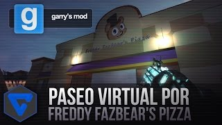 PASEO VIRTUAL POR FREDDY FAZBEAR