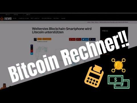 Das Ist Der BESTE Bitcoin Rechner! | Krypto Rechner Review