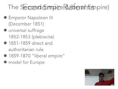 14B: Age of Realpolitik-France's 2nd Empire and Napoleon III