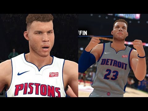 NBA 2K19 Blake Griffin Screenshot and Rating!
