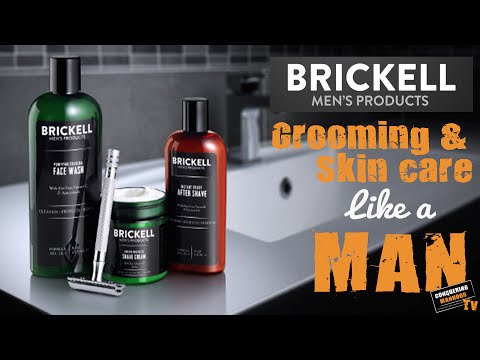 Grooming and Skin Care Like a Man - Brickell's Men's Product Manly Review