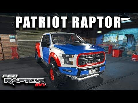 4TH OF JULY THEMED FORD RAPTOR | Car Mechanic Simulator 2018