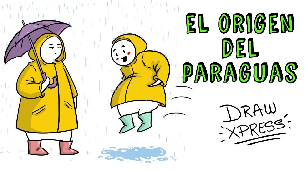 EL ORIGEN DEL PARAGUAS | Draw My Life