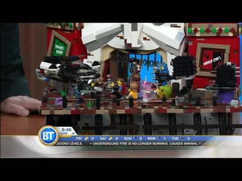 BT Vancouver  The LEGO Movie Interview