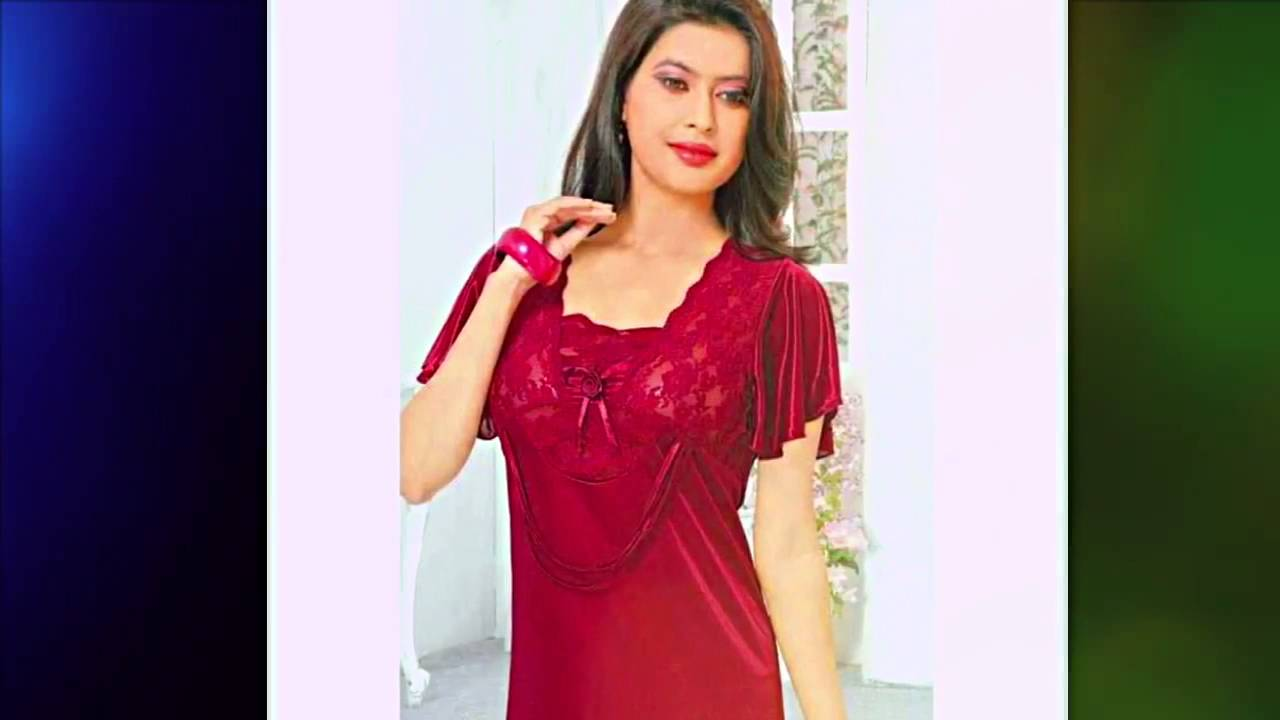 Women Nighty And Nightwear Collection Part 1 Youtube