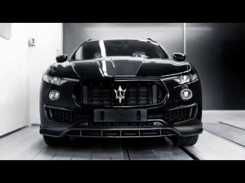 Black Shtorm - LARTE Maserati Levante Shtorm kit